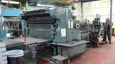 Crabtree Marquess Printing Press