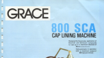 Grace Cap Lining Machine 800 SCA