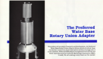 Preferred Water Base Rotary Union Adapter