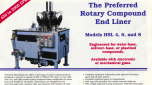 Preffered Electronic Guns for Rotary Compound End Liners