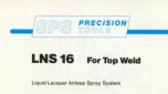 Precision LNS 16 For Top Weld