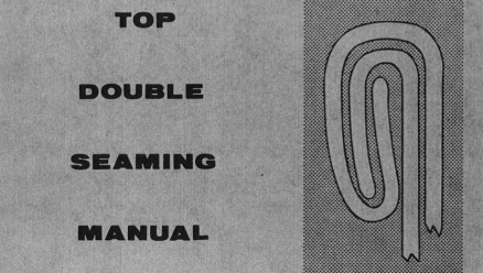 Top Double Seaming Manual